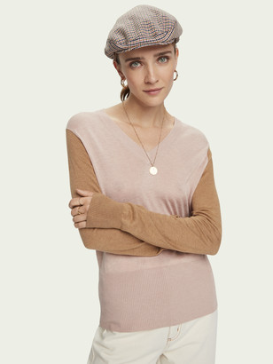 Scotch & Soda Lightweight knit with fitted waist | Women
