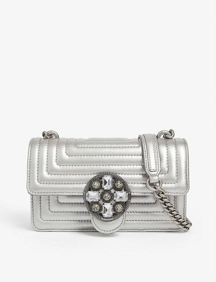 Pinko Mini Love quilted leather bag