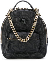 Versace Palazzo chain backpack - women - Calf Leather - One Size