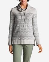 Eddie Bauer Women's Geo Jacquard Pullover Sweater