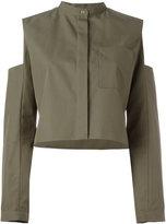 Maison Rabih Kayrouz slit arms jacket - women - Cotton - 36