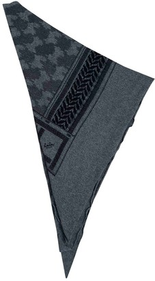 Lala Berlin Grey Cashmere Scarves