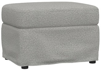 Pottery Barn Kids Modern Wingback Slipcovered Glider