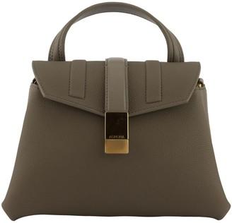Agnona Pochette Grey Shoulder Bag