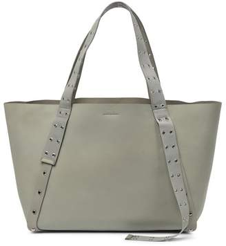 AllSaints Sid East West Leather Tote