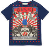 Gucci Children's circus print t-shirt