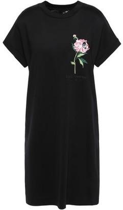 Love Moschino Embroidered Jersey Mini Dress