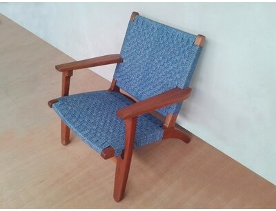 """Thumbnail for your product : Masaya & Co 24"""" Wide Armchair"""