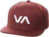 RVCA Va Snapback Ii Snapback Cap Red