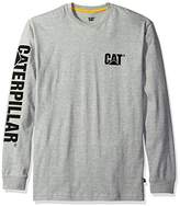 Caterpillar Men's Trademark Banner Long Sleeve Tee