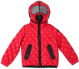 AI Riders On The Storm Quilted Micro Ripstop Puffer Jacket