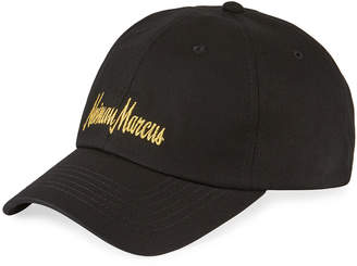 Neiman Marcus Produced by Staple Men's Cotton Twill Dad Hat with Embroidered Logo
