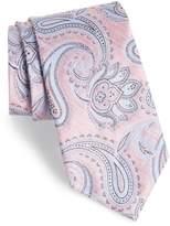 Nordstrom Anrigo Pailsey Silk & Linen Tie