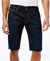 True Religion Men's Ricky Cutoff Jean Shorts