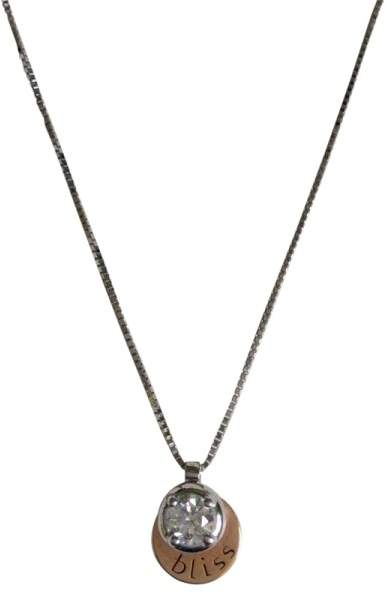 Damiani Bliss by 'Luce' 18K Gold Diamond Solitaire Necklace