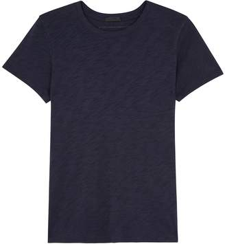 ATM Anthony Thomas Melillo Schoolboy Navy Slubbed Cotton T-shirt
