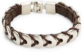 Uno de 50 Donut Leather Bracelet