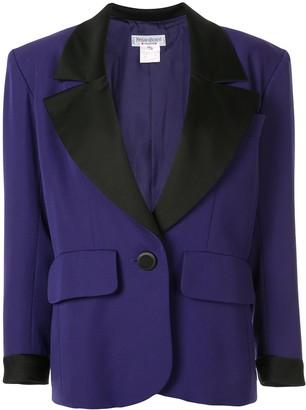 Yves Saint Laurent Pre Owned Longsleeve Jacket
