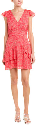 Parker Ruffle Sheath Dress