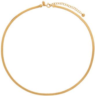 Maria Black Gold Mio Chain Necklace