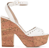 Le Silla cork platform sandals