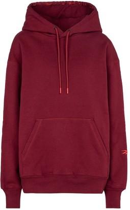 Reebok x Victoria Beckham Logo cotton jersey hoodie