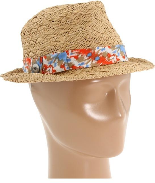 UGG Interlock Ikat Trilby (Natural Multi) - Hats