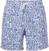 Venroy ink blot print swim shorts