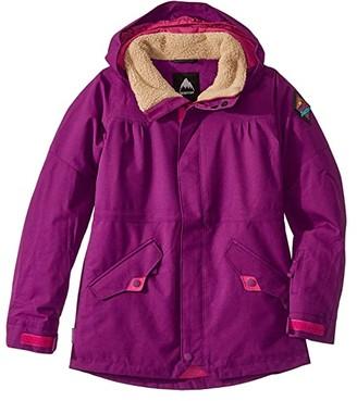 Burton Shortleaf Parka (Little Kids/Big Kids) (Charisma) Girl's Clothing