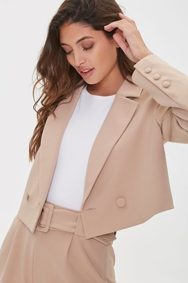 Forever 21 Double-Breasted Buttoned Blazer