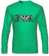 Emporio Armani For 2016 Mens Printed Long Sleeve tops t shirts