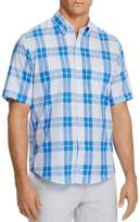 Tailorbyrd Balsam Plaid Regular Fit Button-Down Shirt