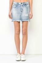 Hidden Jeans Mini Denim Skirt