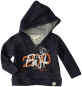 Burt's Bees Baby Loose Terry Graphic Hoodie (Baby) - Midnight-18 Months