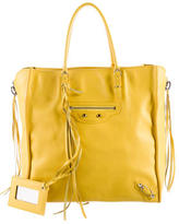 Balenciaga Papier A5 Leather Bag