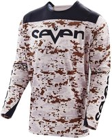 7 For All Mankind Seven Zero Camo Men's MotoX Motorcycle Jersey - / 2X-Large