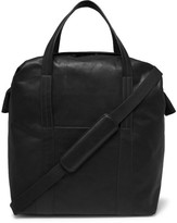 Maison Margiela Leather Tote Bag - Black