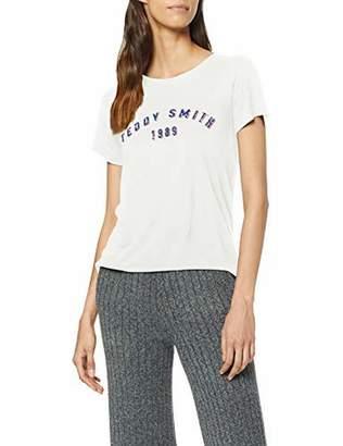 Teddy Smith Women's T-tercia Mc T-Shirt