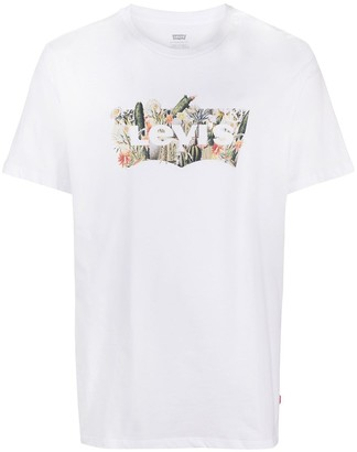 Levi's Housemark graphic cactus T-shirt