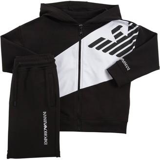 Emporio Armani Cotton Sweatshirt & Sweatpants