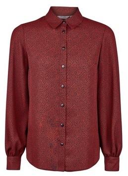 Dorothy Perkins Womens Dp Petite Red Pebble Print Shirt, Red