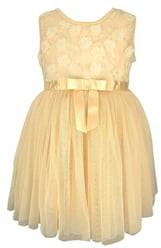 Popatu Flower Ribbon Tulle Dress