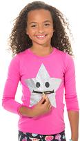LittleMissMatched Pink Zip It Star Tee