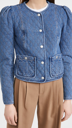 Veronica Beard Jeans Camilla Quilted Jacket