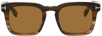 Tom Ford Tortoiseshell Dax Sunglasses