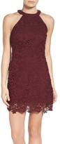 LuLu*s Women's Lace Halter Dress