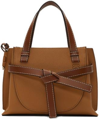 Loewe Brown Small Gate Top Handle Bag