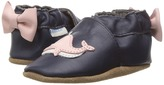 Robeez Winnie the Whale Soft Sole Girl's Shoes