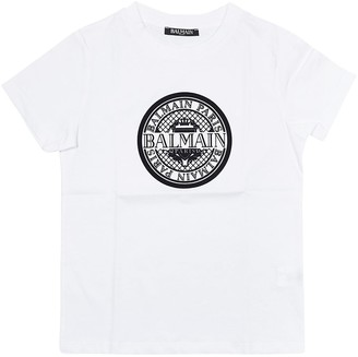 Balmain Printed Short Sleeves T-shirt