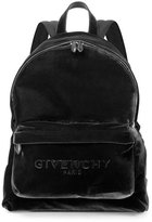 Givenchy Men's Velvet Logo Backpack, Black